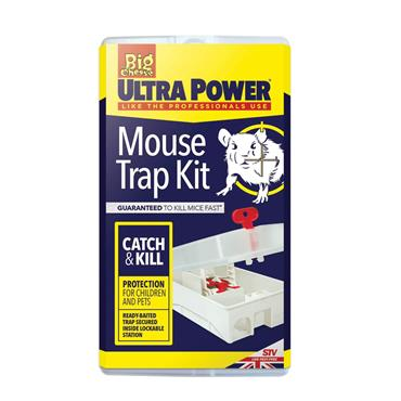 The Big Cheese Ultra Power Trap Kit For Mice | STV563