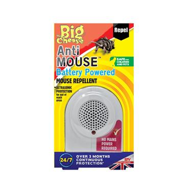 Big Cheese Anti Mouse Battery Powered Mouse Repellent | STV820