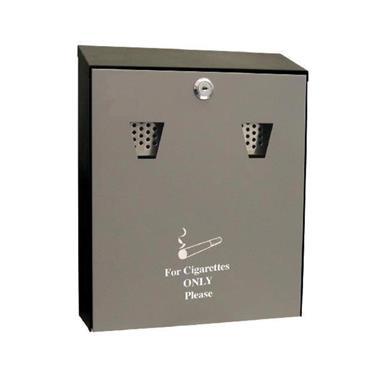 STAINLESS STEEL CIGARETTE ASH BUTT BOX BIN | CAASHS