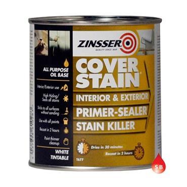Zinsser Cover Stain Primer Sealer 1 Litre - White | ZN610276