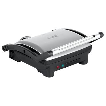 Russell Hobbs 3 in 1 Panini Grill & Griddle Sandwich Toaster - Stainless Steel | 17888