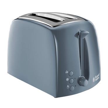 Russell Hobbs Textures 2 Slice Toaster - Grey | 21644