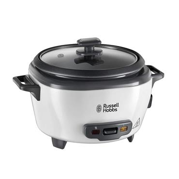 Russell Hobbs 3.3 Litre Large Rice Cooker & Steamer - White   27040