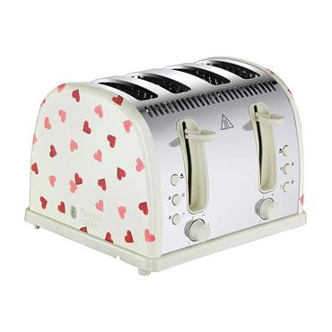 Russell Hobbs Emma Bridgewater Hearts 4 Slice Toaster | 28350