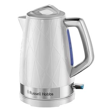 Russell Hobbs Structure Kettle 1.7 Litre - White   28080