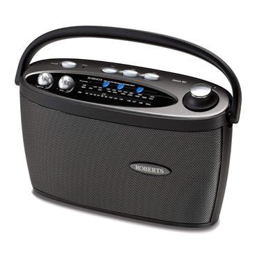 Roberts Classic 3 Band Portable Radio - Black | CLASSIC997BK