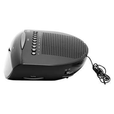 Roberts MW / FM Dual Alarm Clock Radio - Black | CR9971BK