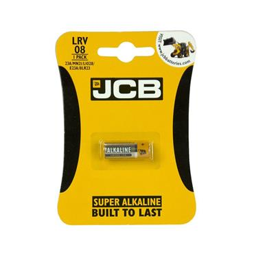 JCB 12V SUPER ALKALINE BATTERY LRV08 | 1737-00