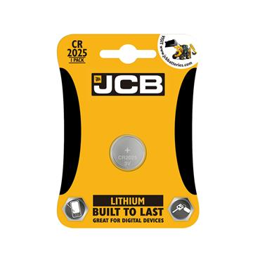 JCB CELL BATTERY CR2025 3V