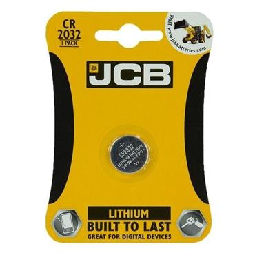 JCB CR2032 Lithium Coin Battery 3V | 1737-08