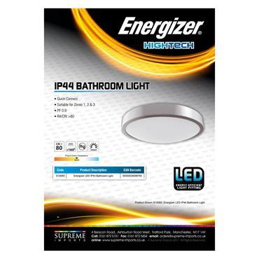 Energizer 10W LED IP44 Bathroom Light | 1810-36