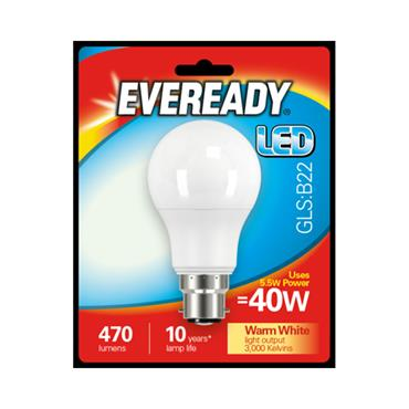 Eveready 5.5W (40W) B22 GLS LED Bulb | 1825-40