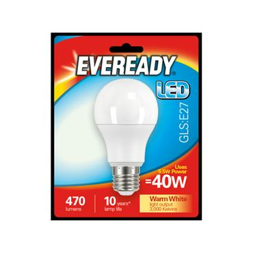 Eveready 5.5W (40W) E27 GLS LED Bulb | 1826-00