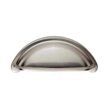 Oxford Cup Cabinet Handle 76mm Satin Nickel | 0901110
