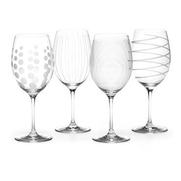 Mikasa Cheers Set Of 4 Red Wine Glasses | 5159242