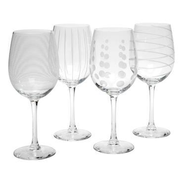 Mikasa Cheers Set Of 4 White Wine Glasses | 5159282