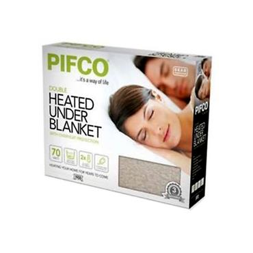 PIFCO DOUBLE HEATED UNDERBLANKET ELECTRIC BLANKET | 1716-12