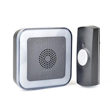 Lloytron 32 Melody Hearing Impaired Door Bell Chime Kit - Black | DB7533B