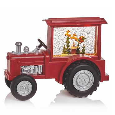 Premier 32cm LED Water Spinner Musical Red Tractor | FLB191289