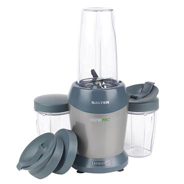 Salter 1000w Nutri ProSuper Charged Multi-Purpose Blender Silver |