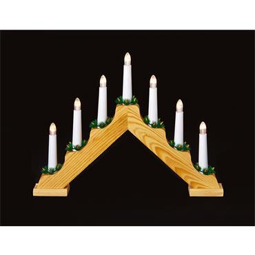 Premier 7 Light Battery Candle Arch Bridge 40cm | LB131273