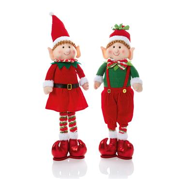 Premier 56cm Standing Elf Boy or Girl Assorted | PL165702