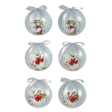 Premier 75mm Fairy Scene Baubles 14 Pack Assorted | TD185532