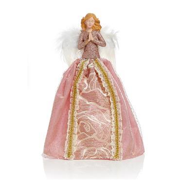 Premier 28cm Tree Top Angel Rose Gold   AC195295RGD