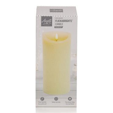 Premier Flickabright Candle Cream - 23cm x 9cm | FALB192182