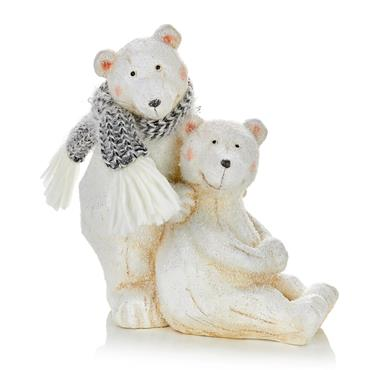 Premier 21cm x 19cm Polar Bear with Cub | MO205570