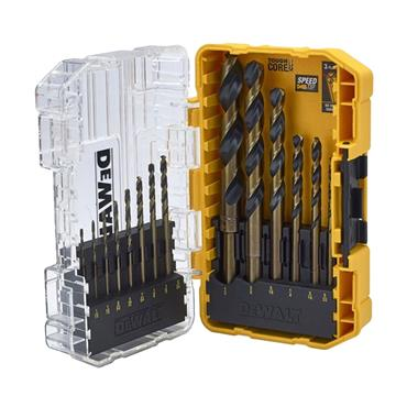 DEWALT DT70727 Black & Gold HSS Drill Set 14 Piece | XMS19DGOLD14