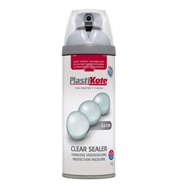 PLASTIKOTE CLEAR SEALER SATIN 400ML