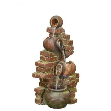 Kelkay Easy Fountain Flowing Jugs Water Feature