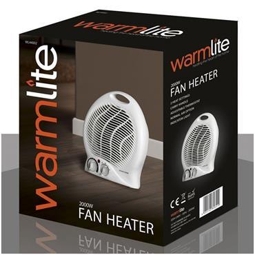 Warmlite 2kw Upright Fan Heater | 1559-40