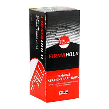 Timco FirmaHold Collated Brad Nails - 18G 50mm - Straight - Galvanised 5000 Pack | BG1850
