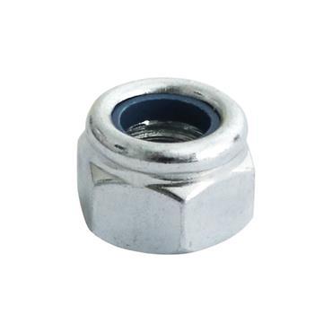 Timco M12 Nylon Lock Nut 4 Pack | 12NPP