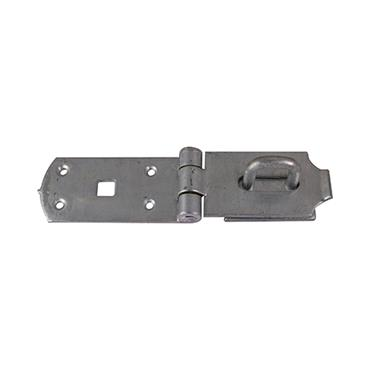 """Secure Bolt On Hasp & Staple 10"""" - Heavy Duty - Hot Dipped Galvanised"""