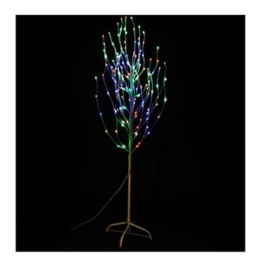Jingles 1.8 Metre (6') LED Birch Angel Tree - Multi-Coloured | YLM-319-MC