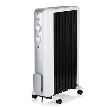 Black and Decker 2kw Oil Filled Radiator with Advanced Heat Circulation | BXRA43002GB
