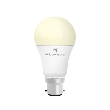 Wiz A60 Classic White WiFi LED Smart Bulb - B22 | 4L1/8001