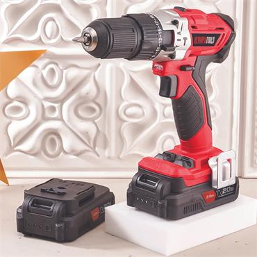 Olympia 20V Combi Drill with Twin 2.0ah Battery Bundle | XMS21OCOMBI