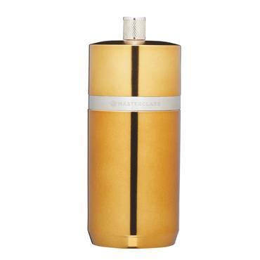 MasterClass Salt or Pepper Mill (12cm) - Brass Finish | MCSNPBRS12