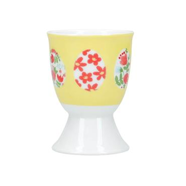 KitchenCraft Eggs Porcelain Egg Cup | KCEGGEGGS