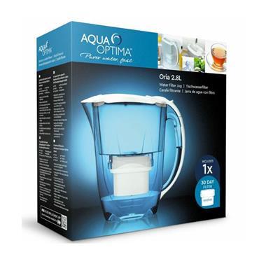 Aqua Optima Oria Water Filter Jug 2.8 Litre   AQOEJO630