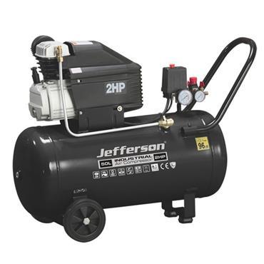 Jefferson Air Compressor 2HP 230V - 50 Litre