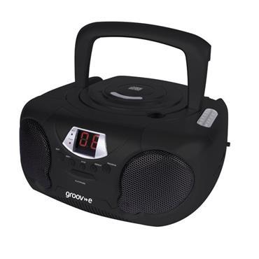GROOVE CD/RADIO BOOMBOX BLACK | GVPSS733BK