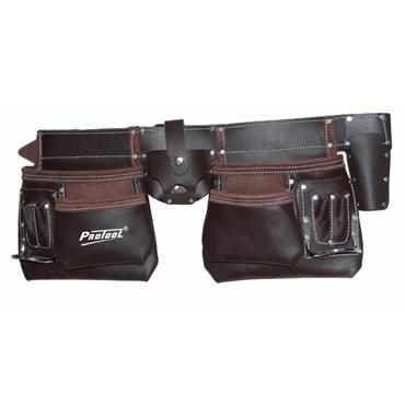 Protool Oil Tanned Leather Tool Pouch Bag | PTTP550