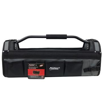 """Protool 24"""" Polyester Tool Tote Grey/Black 
