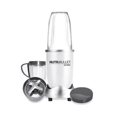 Nutribullet 600W Series Juicer Blender 8 Piece set - White | NBLW8