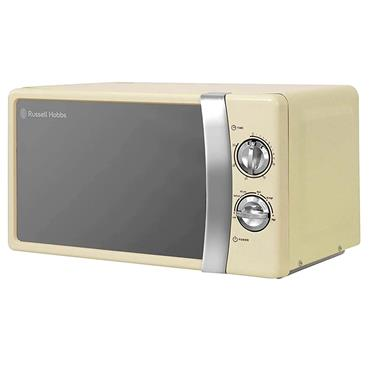 RUSSELL HOBBS 17 Litre 700W MICROWAVE CREAM | RHMM701C